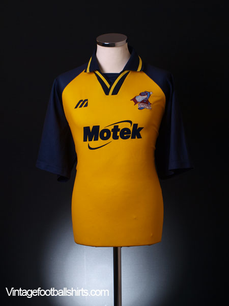 1999-00 Scunthorpe Away Shirt XL