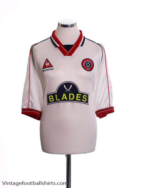 1999-00 Sheffield United Away Shirt L