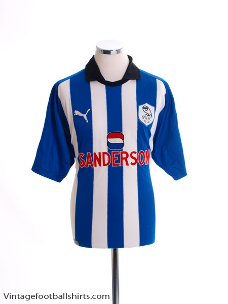 1999-00 Sheffield Wednesday Home Shirt *Mint* S