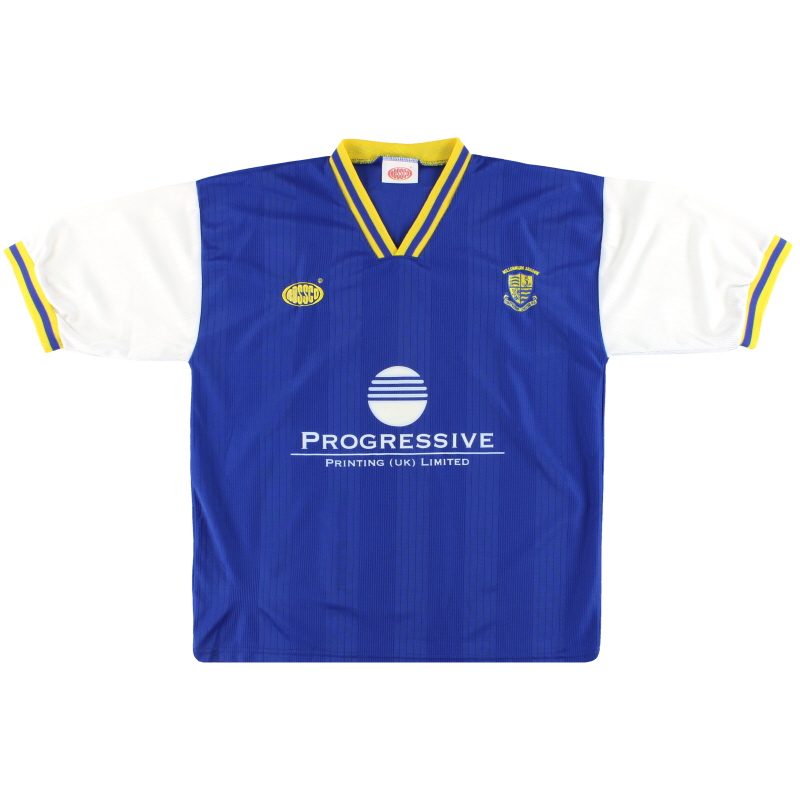 1999-00 Southend Home Shirt XL