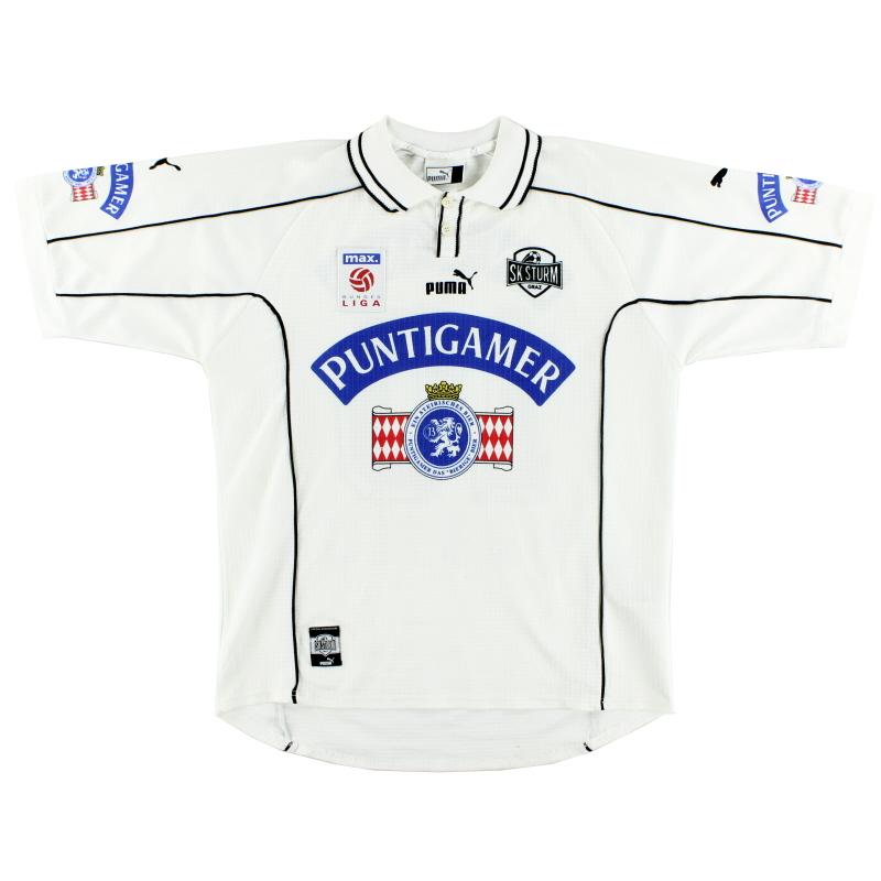 1999-00 Sturm Graz Home Shirt L