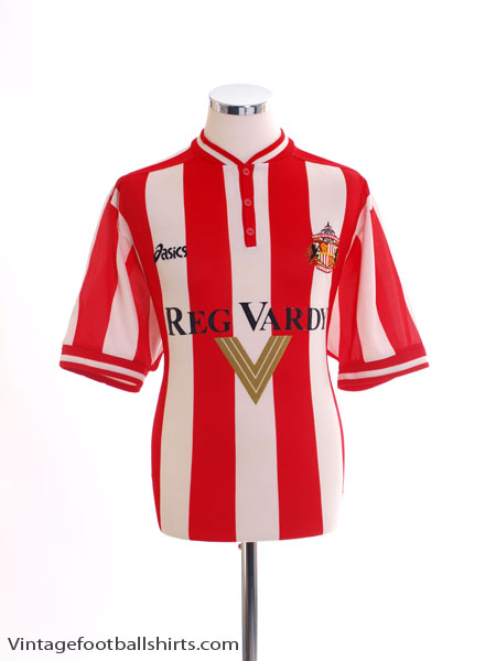 1999-00 Sunderland Home Shirt L
