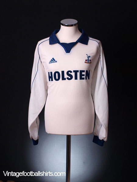 1999-01 Tottenham Home Shirt L/S XXL