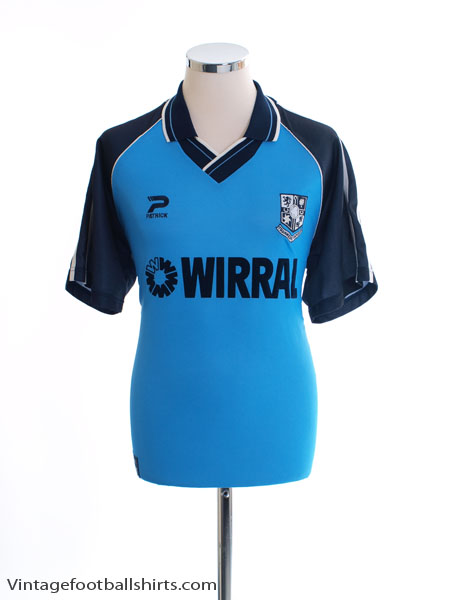 1999-00 Tranmere Rovers Away Shirt M