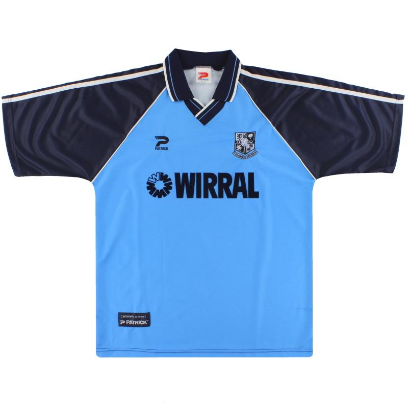 1999-00 Tranmere Rovers Away Shirt *Mint* L