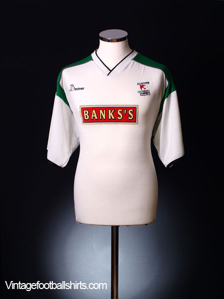 1999-00 Walsall Away Shirt L