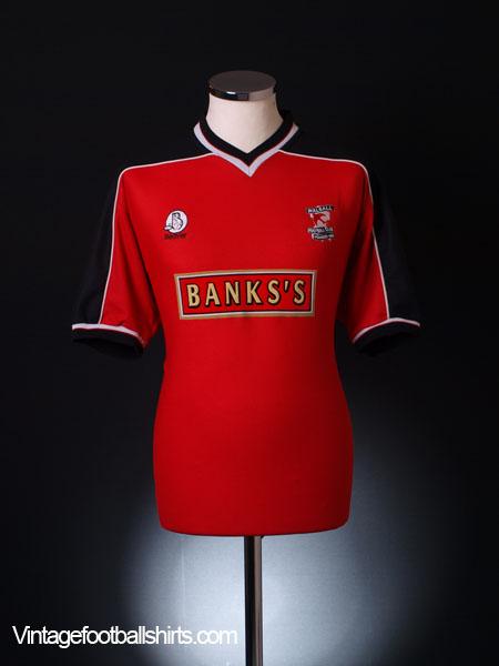 1999-00 Walsall Home Shirt L