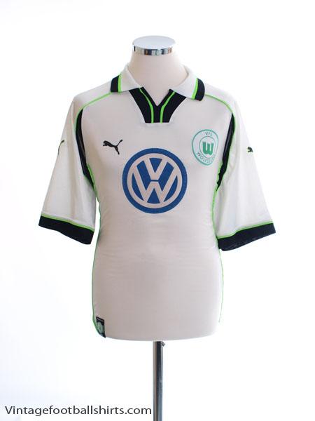 1999-00 Wolfsburg Away Shirt L