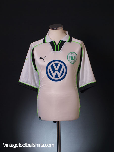 1999-00 Wolfsburg Home Shirt L
