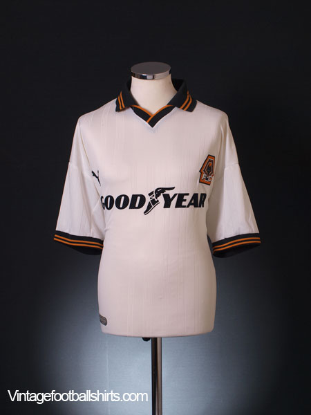 1999-00 Wolves Away Shirt L