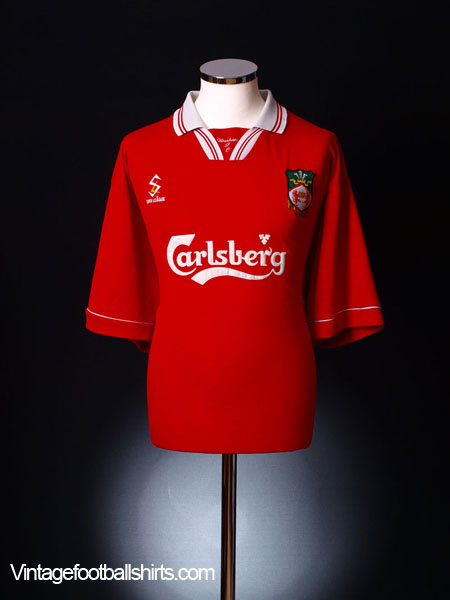 1999-00 Wrexham Home Shirt XXL