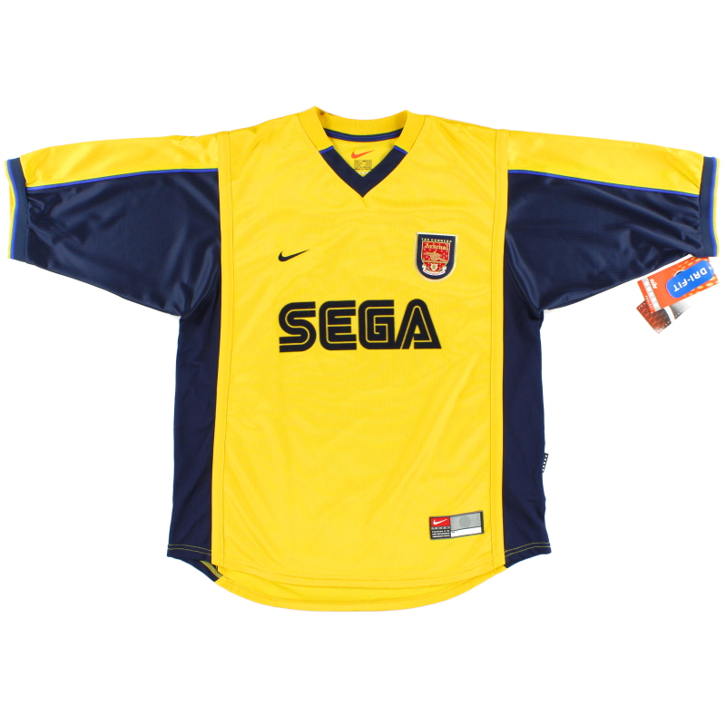1999-01 Arsenal Away Shirt *BNWT* L