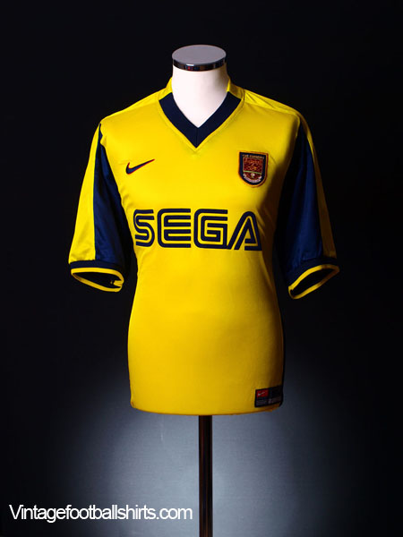 1999-01 Arsenal Away Shirt XXL
