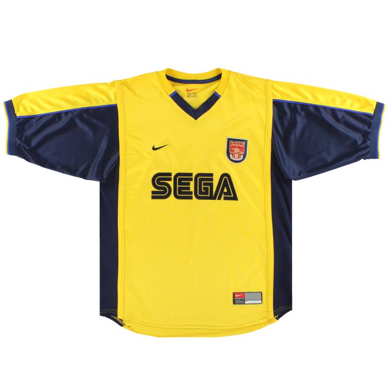 1999-01 Arsenal Nike Away Shirt L