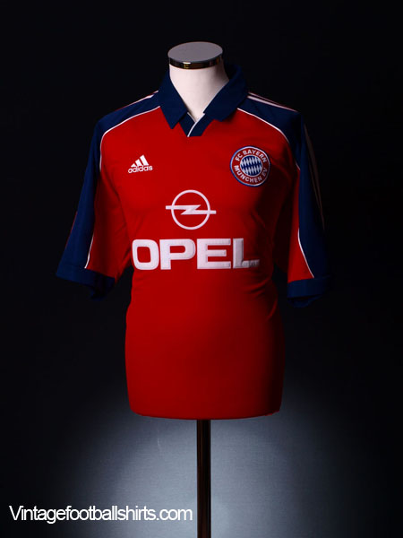 1999-01 Bayern Munich Home Shirt M