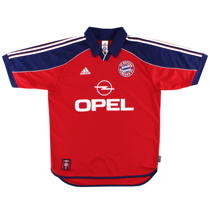 1999-01 Bayern Munich Home Shirt L - 627265