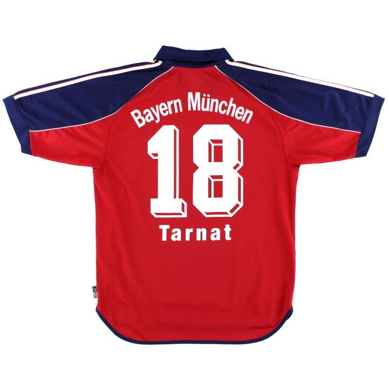 1999-01 Bayern Munich Home Shirt Tarnat #18 M