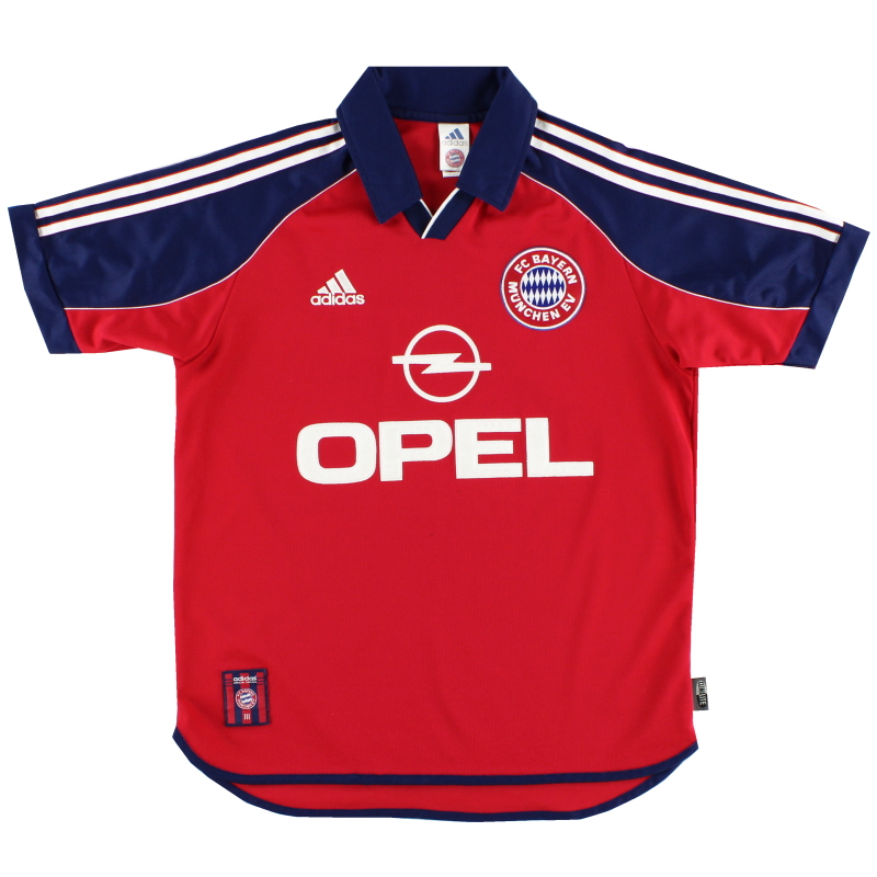 1999-01 Bayern Munich Home Shirt Y