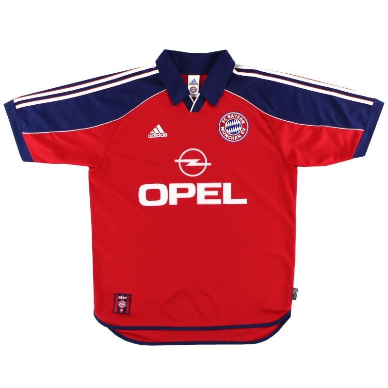 1999-01 Bayern Munich adidas Home Shirt XXL