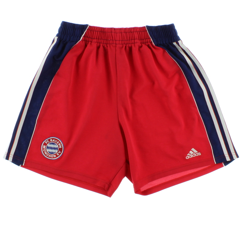 1999-01 Bayern Munich Home Shorts M