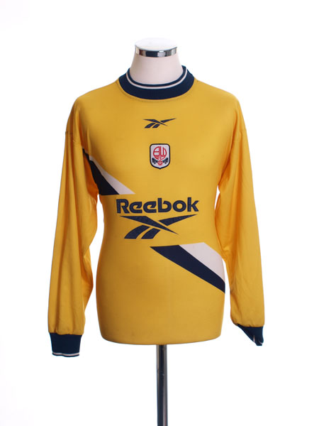 1999-01 Bolton Goalkeeper Shirt S