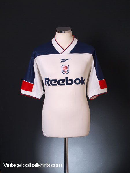 1999-01 Bolton Home Shirt M