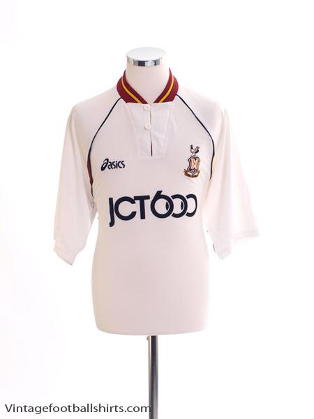 1999-01 Bradford City Away Shirt L