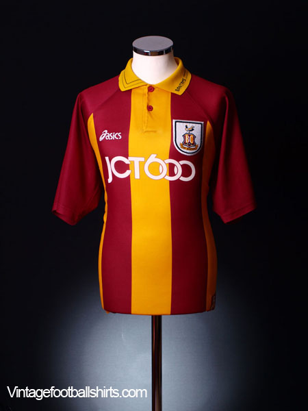 1999-01 Bradford Home Football Shirt XL