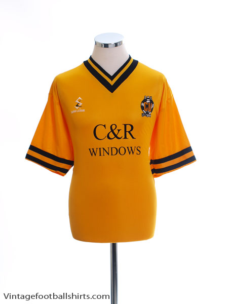 1999-01 Cambridge United Home Shirt L