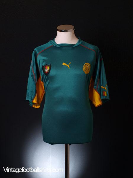 1999-01 Cameroon Home Shirt XL