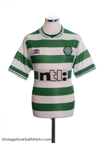 1999-01 Celtic Home Shirt M