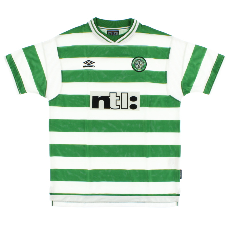 1999-01 Celtic Home Shirt *Mint* XL