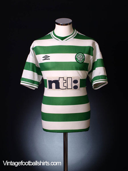 1999-01 Celtic Home Shirt XL