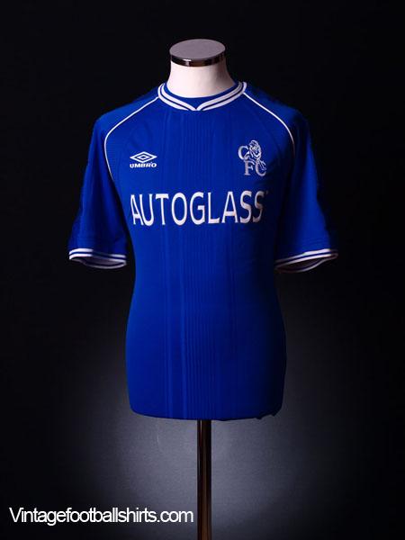 1999-01 Chelsea Home Shirt L