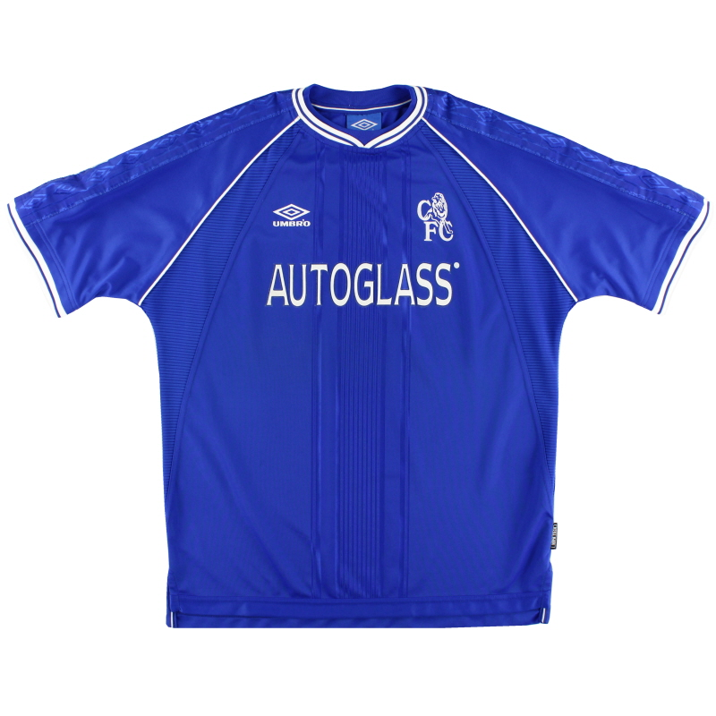 1999-01 Chelsea Home Shirt *Mint* XL