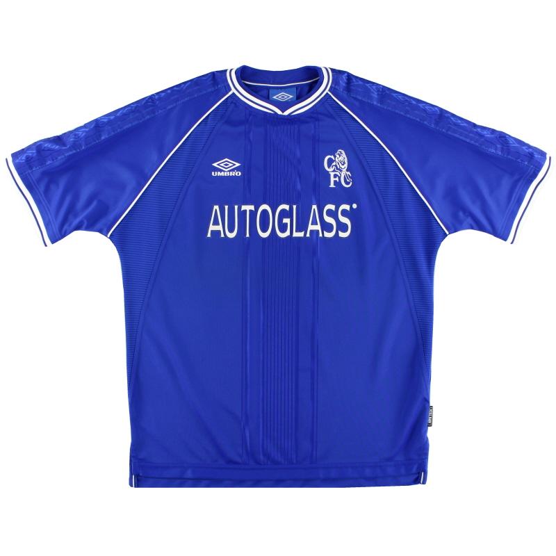 1999-01 Chelsea Umbro Home Shirt M
