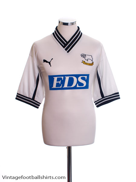 1999-01 Derby County Home Shirt *As New* M