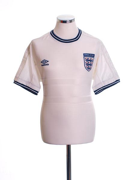 1999-01 England Home Shirt M