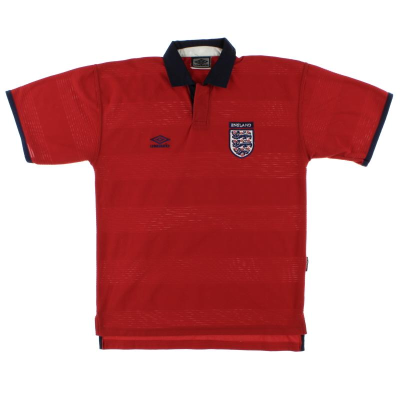 1999-01 England Away Shirt XL