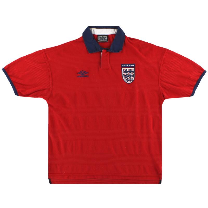 1999-01 England Umbro Away Shirt M