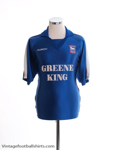 1999-01 Ipswich Home Shirt M