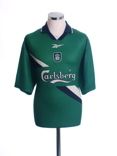 1999-01 Liverpool Away Shirt S