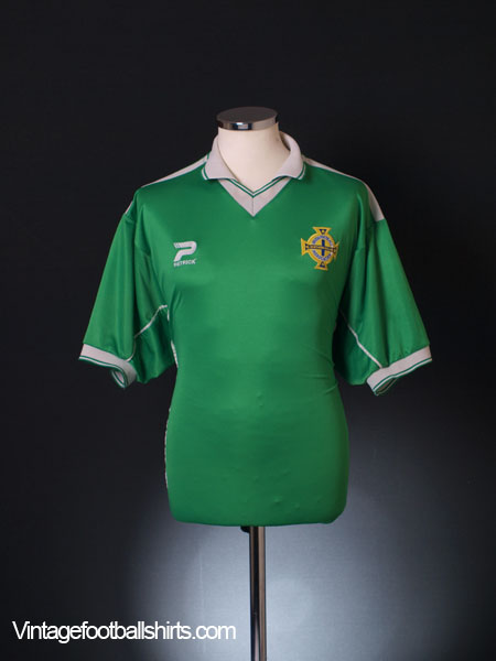 1999-01 Northern Ireland Home Shirt XL