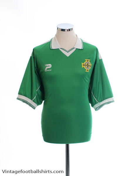 1999-01 Northern Ireland Home Shirt *Mint* XL