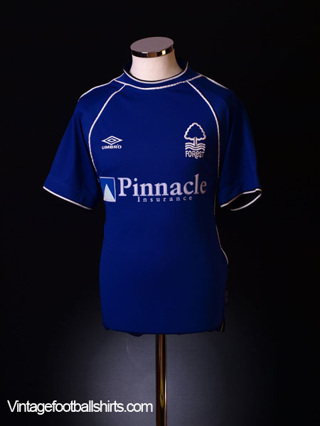 1999-01 Nottingham Forest Away Shirt L