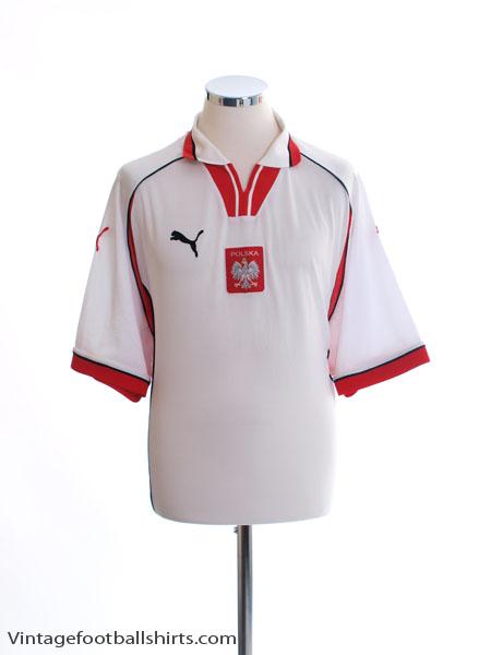 1999-01 Poland Home Shirt XL
