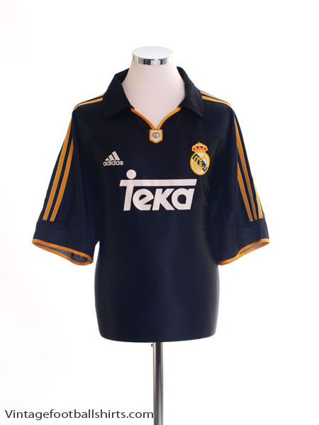 1999-01 Real Madrid Away Shirt XL