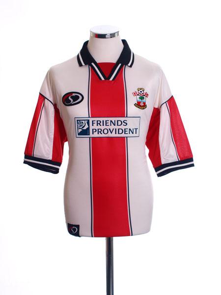 1999-01 Southampton Home Shirt *As New* L