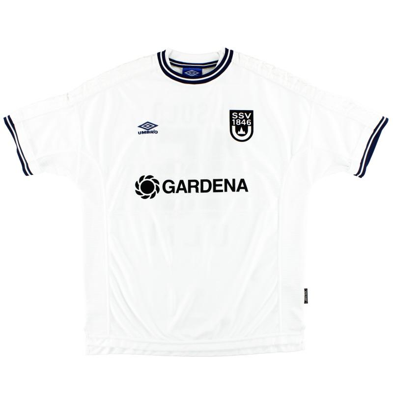 1999-01 SSV Ulm Home Shirt XL