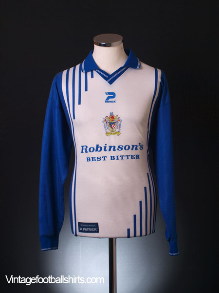 1999-01 Stockport County Home Shirt L/S L